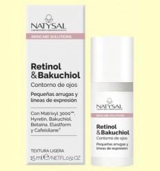 Contorn d'ulls Retinol i Bakuchiol - Natysal - 15 ml