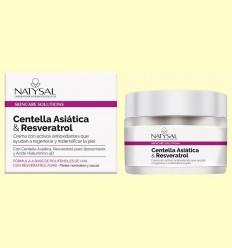 Crema de Centella Asiàtica i Resveratrol - Natysal - 50 ml