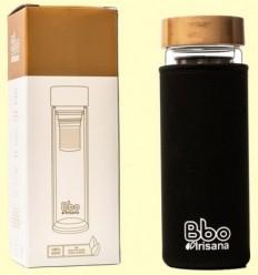 Termo Infusionador de doble Vidre amb funda - Irisana - 400 ml