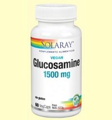 Vegan Glucosamine 1500 mg - Solaray - 60 càpsules