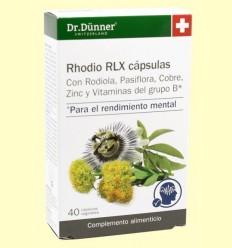 rhodio RLX - Dr. Dünner - 40 càpsules