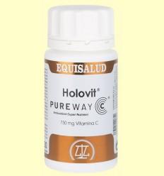 Holovit PureWay C - Vitamina C - Equisalud - 50 càpsules