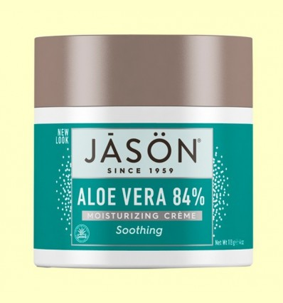 Crema Aloe Vera 84% + Vitamina E - Jason - 113 grams