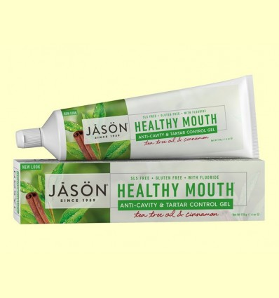 Dentifrici Healthy Mouth - Jason - 119 grams