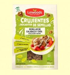 Cruixents Tastets de Llavors de Carbassa i Chía Bio - Linwoods - 200 grams