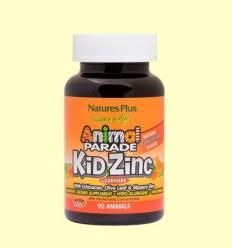 Animal Parade Kid Zinc - Natures Plus - 90 comprimits