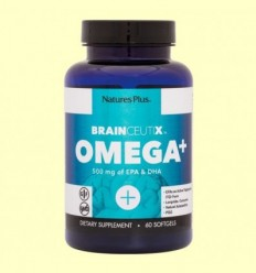 Brainceutix Omega + - Natures Plus - 60 perles