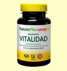 Vitalitat Alta Potència - Natures Plus - 30 comprimits