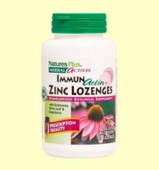 ImmunActin Zinc lozenges - Natures Plus - 60 comprimits