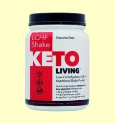 KetoLiving LCHF Batut Xocolata - Natures Plus - 675 grams