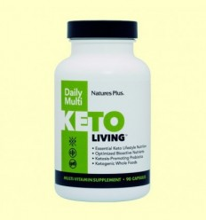 KetoLiving Daily Multi - Natures Plus - 90 càpsules