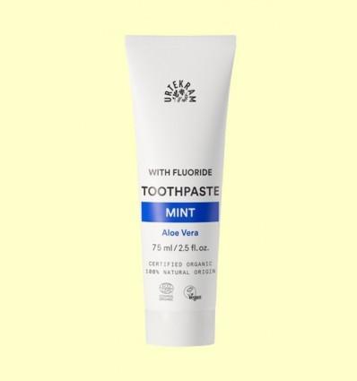 Dentifrici Menta Aloe Fluor - Urtekram - 75 ml