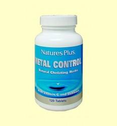 Metall Control - Detoxificació - Natures Plus - 120 comprimits
