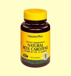 Natural Beta Carotè - Natures Plus - 90 comprimits
