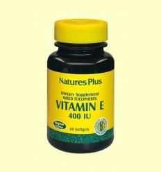 Vitamina E 400 UI - Natures Plus - 60 perles