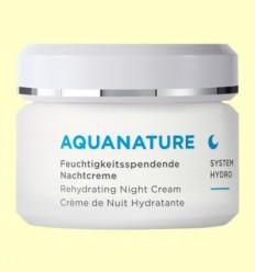 Aquanature Crema de Nit Hialurónica - Anne Marie Börlind - 50 ml