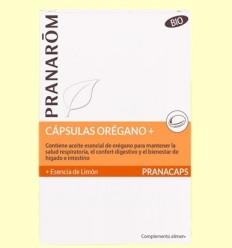 Orenga amb Essència de Llimona - Pranarom - 30 càpsules