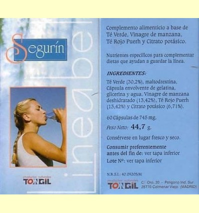 Segurín - Tongil - 60 càpsules