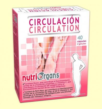 Nutriorgans Circulació - Tongil - 40 càpsules
