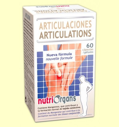 Nutriorgans Articulacions - Tongil - 60 càpsules