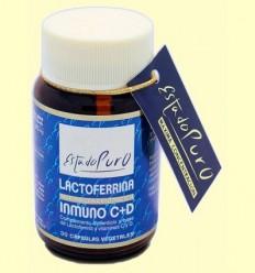 Lactoferrina Immuno C i D Estat Pur - Tongil - 30 càpsules