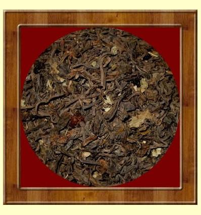 Te Vermell Xinès Pu-Erh amb FRUITES DEL BOSC 100 grams