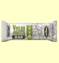 Vegan Protein Bar gust Xoco Brownie - NutriSport - 12 barretes