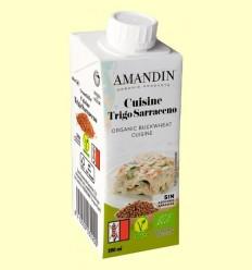 Cuisine de Blat Sarraí Bio - Amandin - 200 ml