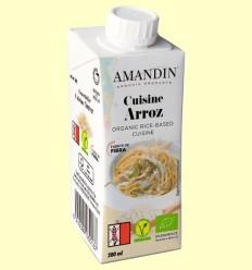 Cuisine d'Arròs Bio - Amandin - 200 ml
