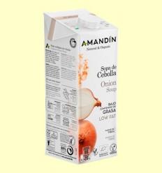 Sopa de Ceba Bio - Amandin - 1 litre
