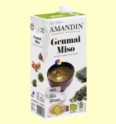Caldo de Miso Bio - Amandin - 1 litre