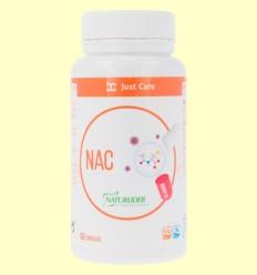 NAC 600 mg N-Acetil Cisteïna - Naturlider - 60 càpsules