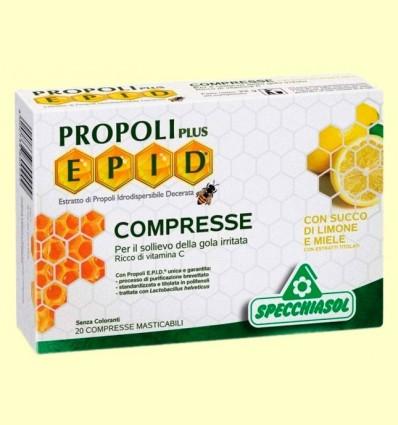 Epid Propoli Plus Mel i Llimona - Specchiasol - 20 comprimits