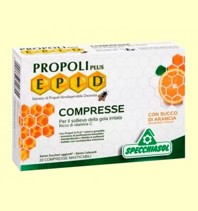 Epid Propoli Plus Taronja - Specchiasol - 20 comprimits
