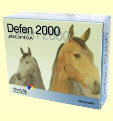 Defen 2000 - Llet de Egua - d'Herbós - 60 càpsules
