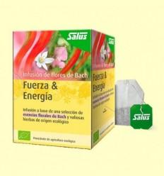 Força & Energia - Infusió de flors de Bach Bio - Salus - 15 bossetes filtre