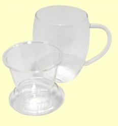 Tassa Infusora de Vidre amb filtre - 1 unitat