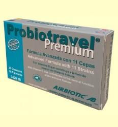 Probiotravel Premium Ajuda Digestiva - Airbiotic - 30 càpsules
