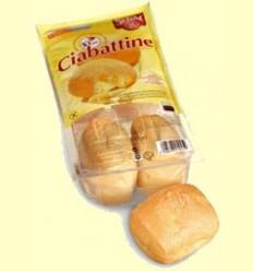Ciabattine - Panets de xapata per coure sense gluten