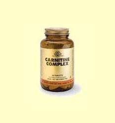 Carnitina Complex - Solgar - 60 comprimits