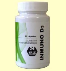 Immuno D3 - Vitamina D - Laboratoris Nale - 60 càpsules