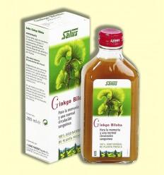 Suc de planta fresca GINKGO - Salus - 200 ml