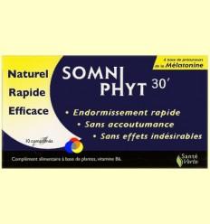 Somniphyt 30 - Per a la nit - Santé Verte - 10 comprimits *