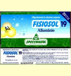 Fisiosol 19 Alumini - Specchiasol - 20 ampolles