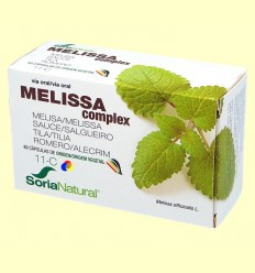 Melissa Complex 11-C - Soria Natural - 60 càpsules