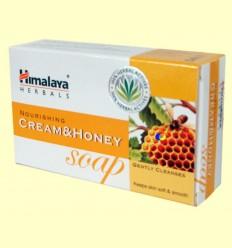 Sabó amb crema de llet i mel - Himàlaia Herbals - 75 grams