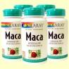 Maca - Solaray - Pack 5 unitats de 100 càpsules de 525 mg