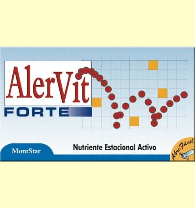 Alervit Forte - Ajuda contra les al·lèrgies - MontStar - 10 vials