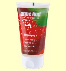 Anne Lind Body Gel Strawberry - Gel de dutxa maduixa - Anne Marie Börlind - 150 ml