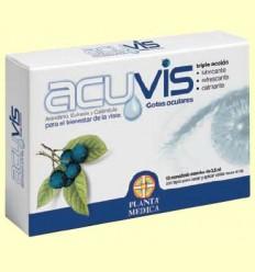 Acuvis - Gotes oculars per al benestar dels teus ulls - Planta Mèdica - 10 monodosi